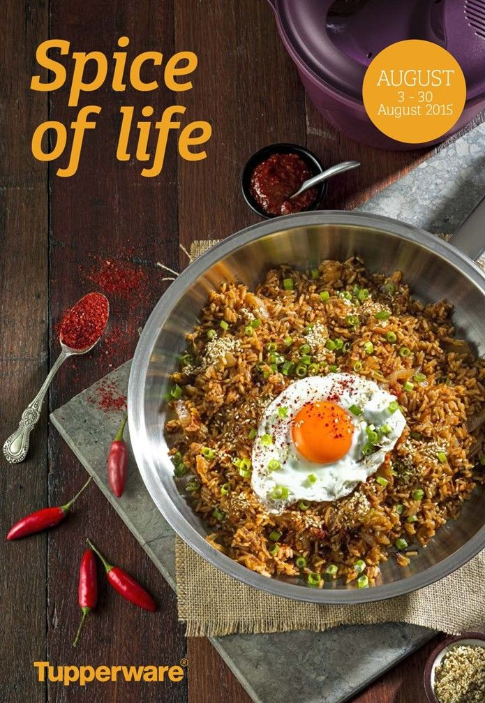 Spice of life AUGUST 3 - 30 August 2015