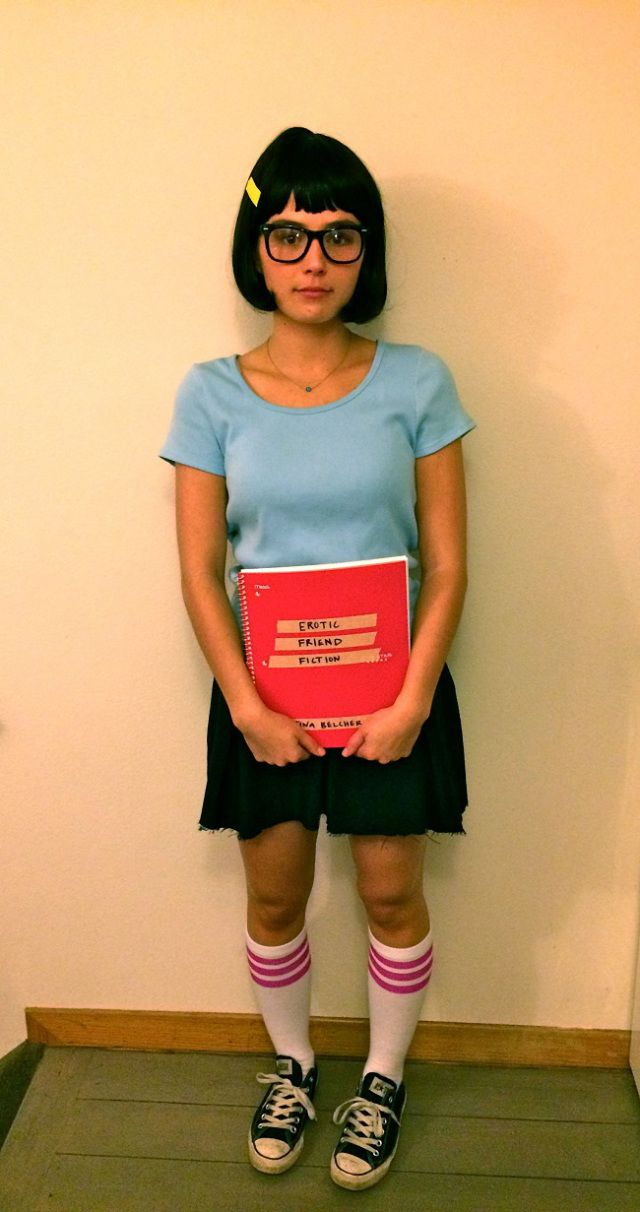 bobs-burgers-tina-belcher - Cheap Homemade Halloween Costumes