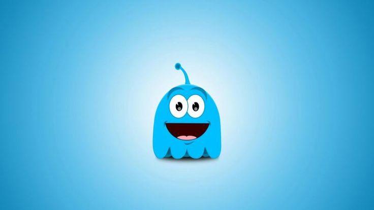 Cute Blue Alien