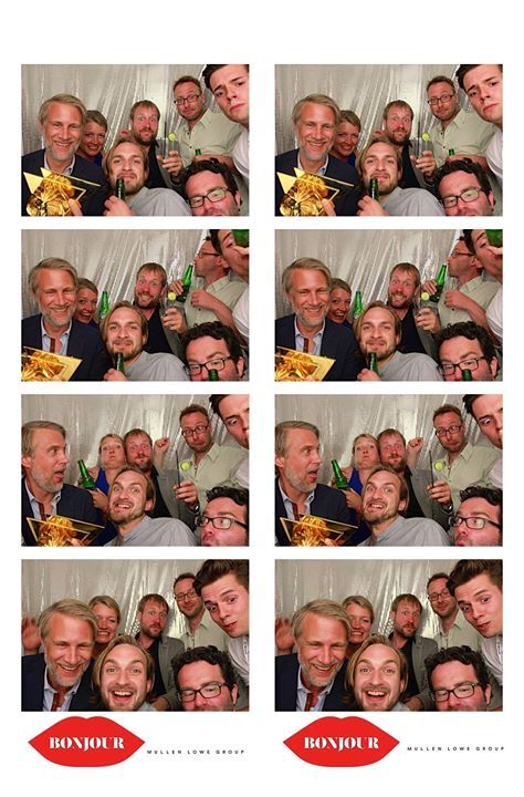 Let loose in a photobooth at Cannes…