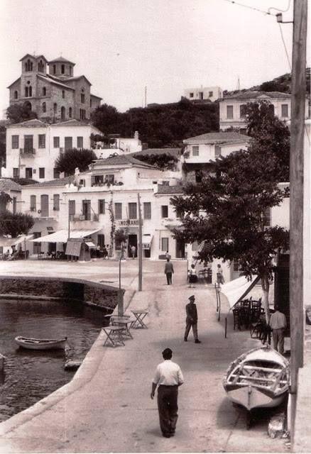 Batsi, Andros island in the 1960s