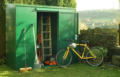 Tall Metal Garden Shed - 7 x 3 ft (Supplied Flat Pack) Secure outdoor storage from Asgard