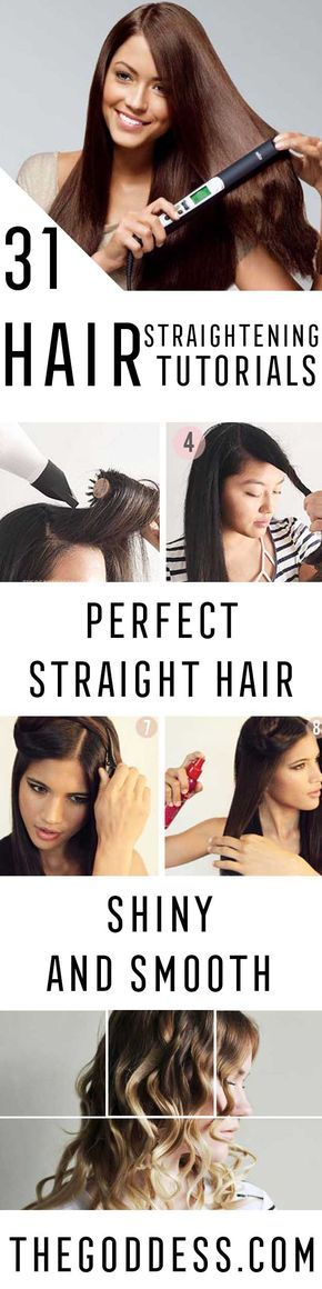 Hair Straightening Tutorials - Looking For The Best Hair Straightening Tutorials And The Best Straightening Tips On The Web? Whether You Are Looking To Use A Flat Iron, Or Trying To Straighten Your Hair Without Heat, Where There's A Will, There's A Way, And There Are Products To Help Your Curls. These Step By Step Hair Straightening Hacks And Tips Will Make It So You Can DIY Your Hair With Some Simple Techniques, A Brush, And Your Creativity. We Cover Natural And Chemical Hair Straighteni...