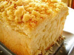 Lekkie Waniliowe Ciasto Drożdżowe