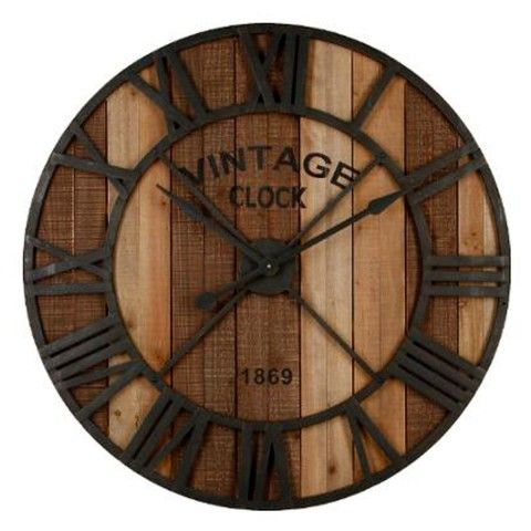 les 25 meilleures id es de la cat gorie horloge murale vintage sur pinterest horloges murales. Black Bedroom Furniture Sets. Home Design Ideas