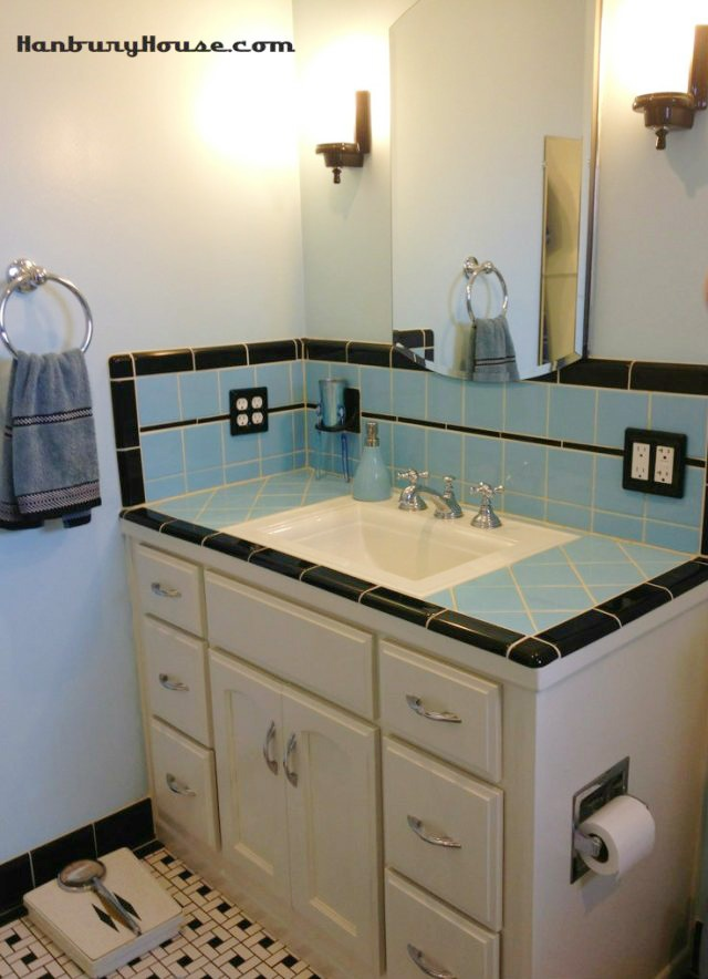 S Bathroom Vanity Bathroom Design Ideas - 1950's style bathroom vanity