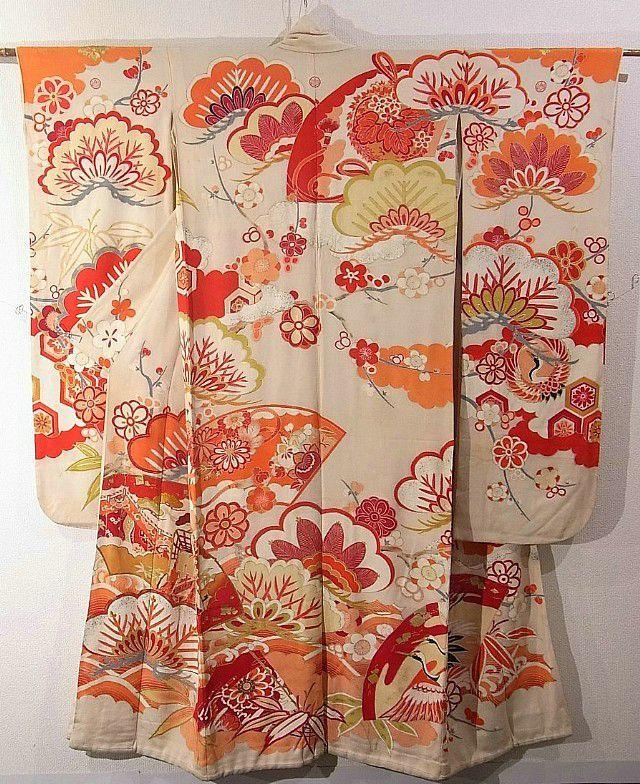 Furisode #285887 Kimono Flea Market Ichiroya