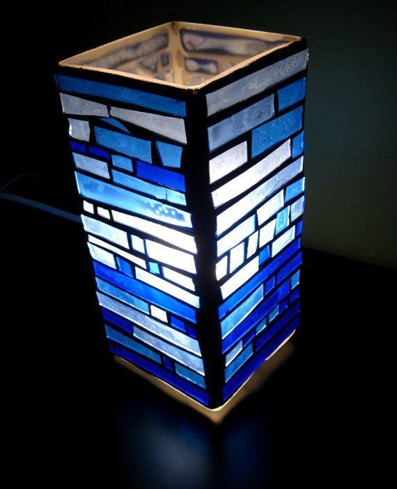 lampe mosa que de croissant de lune par februaryskystudio. Black Bedroom Furniture Sets. Home Design Ideas