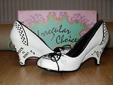 Irregular Choice Rock and Roll shoes. Punk,rock,rockabilly,90's grunge,hipster, SIZE 5!