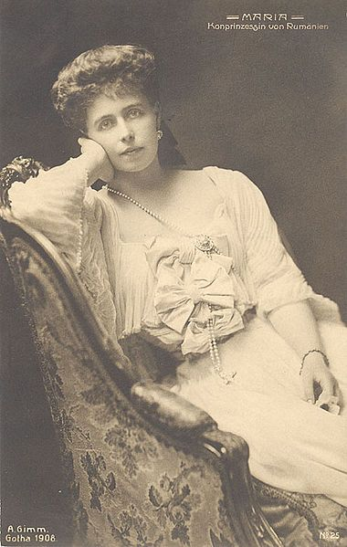 """""""Even Crown Princess Marie of Romania was not immune to the grand duke Boris's charm. He made no secret of his admiration for the beautiful Missy, which soon sent tongues wagging. The Duchess of Coburg warned her daughter of the flirtation, but Missy succumbed to Boris's amusing company. It would appear that Boris was 'the first of [Missy's] numerous lovers."""" (From Splendor to Revolution: the Romanov Women, 1847-1928) _BM"""