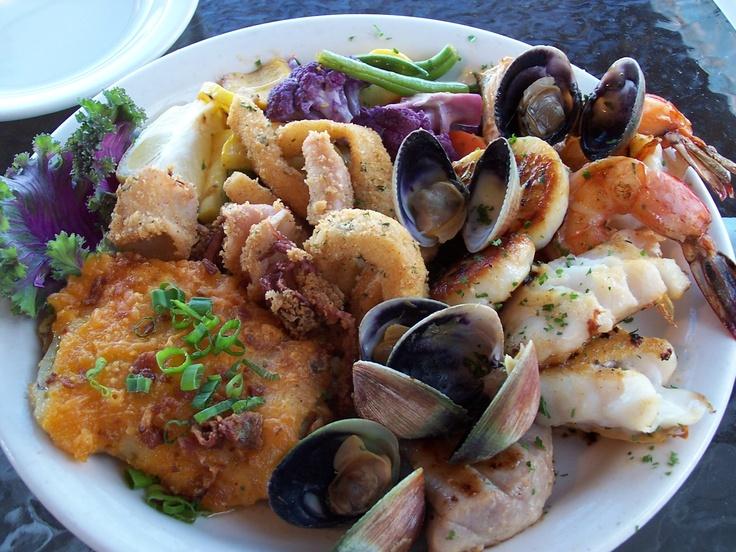 Seafood Platter at Olde Port Inn