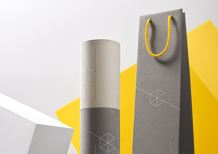 """Polish studio Redkroft was commissioned by Google Campus Warsaw to create this bold packaging for a unique gift that is handed by the Campus on special occasions.  """"Silk-screen printed on high a quality paper in line with the brand"""