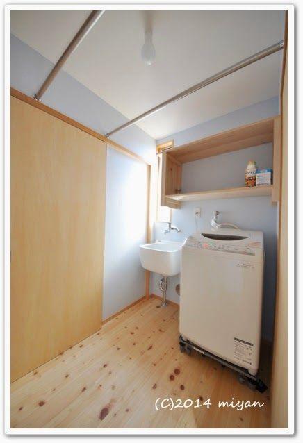 WEB内覧会/期待以上に便利だった洗濯室   ぼちぼち暮らし