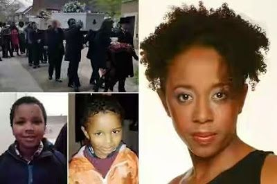 Photos: Murdered EastEnders Actress Sian Blake And Her Children Laid To Rest
