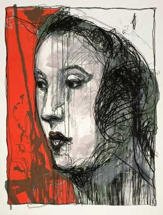Kuutti Lavonen: Heure asienne, 2008, serigrafia