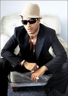Pure style. Lenny Kravitz