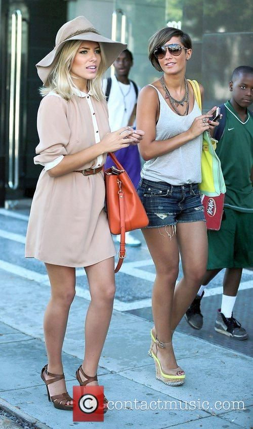 Mollie King, Frankie Sandford and The Saturdays 14