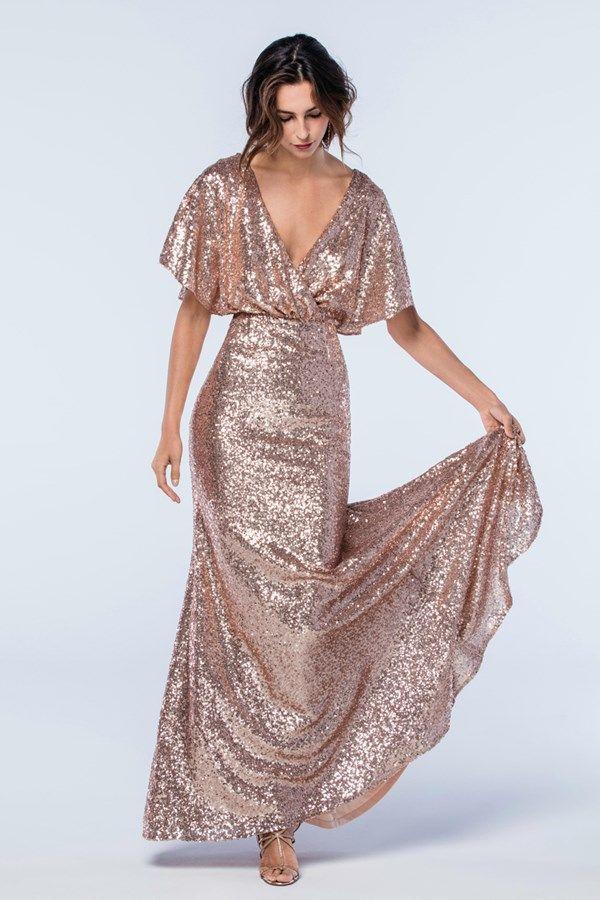 Best 25+ Rose gold bridesmaid ideas on Pinterest