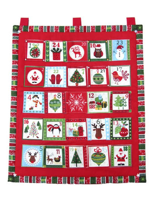 Children's Novelty Fabric Advent Calendar