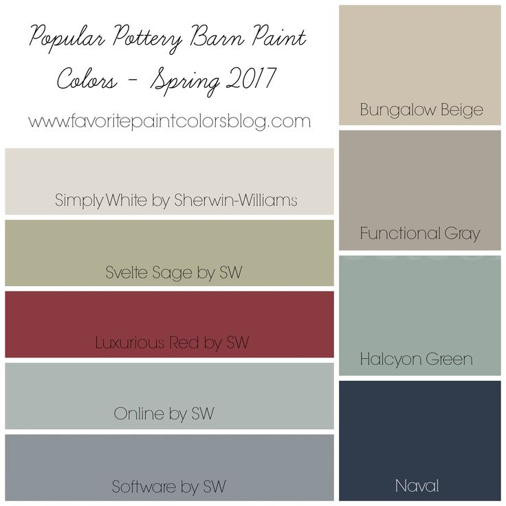 25 Best Ideas About Pottery Barn Paint On Pinterest