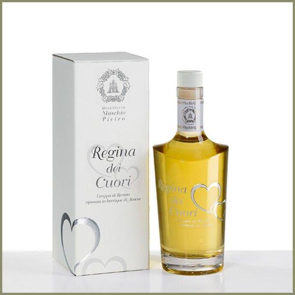 Vendita online | Regina dei Cuori grappa di Recioto bottiglia da cl.70 Conf. da 6 distillerie Maschio Pietro - Gastronomia - Prodotti Italiani