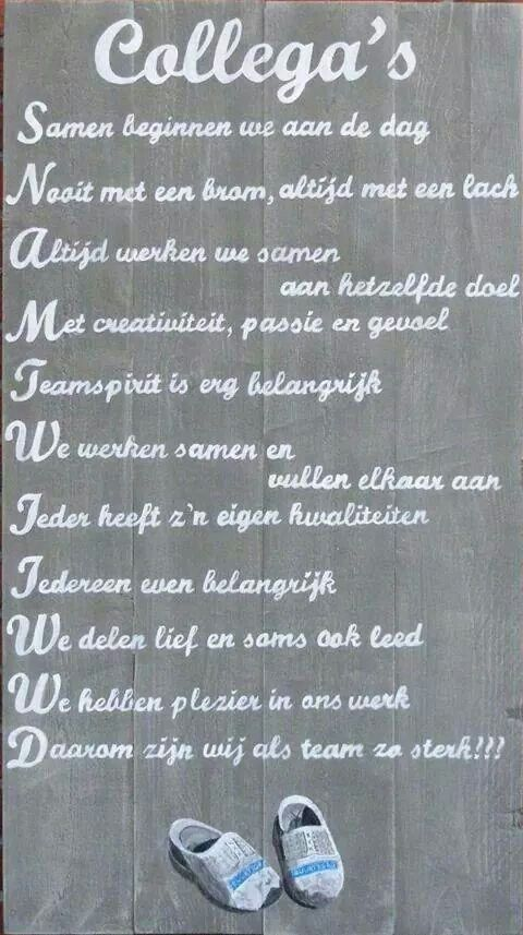 Voorkeur 26 best gedicht collega's images on Pinterest | Quotes, A quotes  BG91