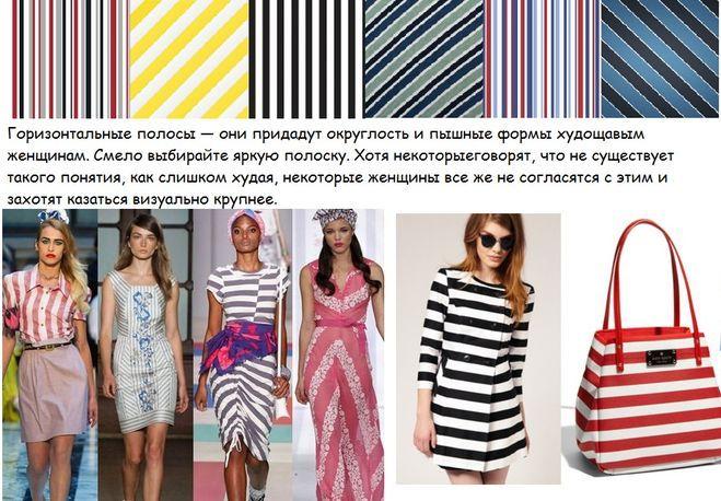 Рисунок в полоску в одежде будет в тренде в 2015 году?