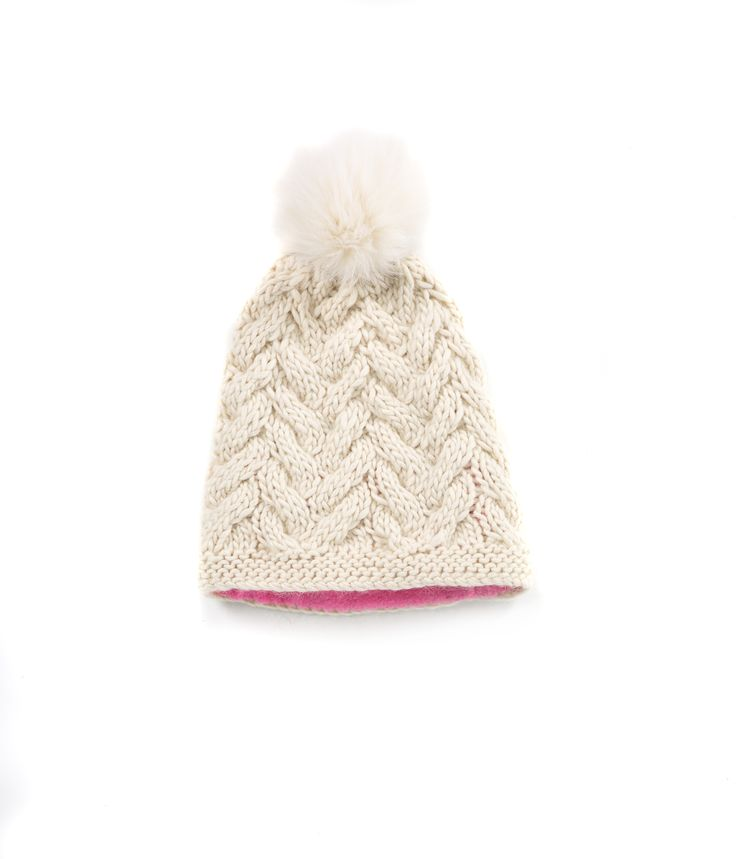 KNIT BEANIE CAP FOR WOMEN in Winter White - CABLE KNIT HAT The GŌBLE Women Knit Beanie Cap is a luxurious soft blend of merino wool, alpaca and silk. HAND KNIT IN CANADA GOBLE.CA