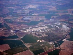 Vista aérea de la Base Aérea de Morón, una localización de @lamarcadeodin