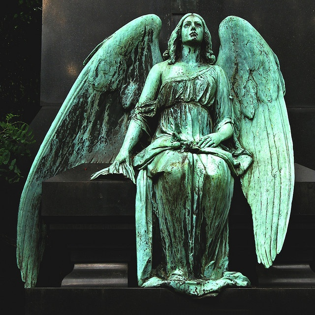 Small Angel Statues For Graves: 17 Best Images About Angels & Cherubs & Wings On Pinterest