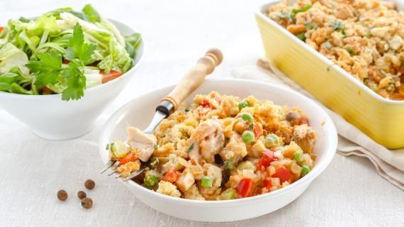 Крамбл из курицы с овощами. Пошаговый рецепт с фото на Gastronom.ru