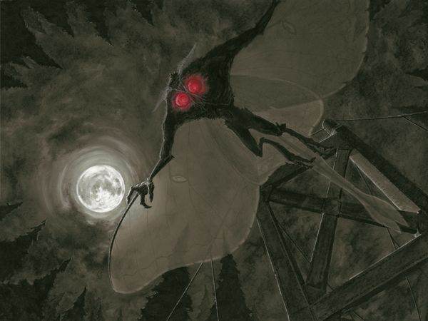 8 Offered Explanations for The Mothman Prophecies Creature