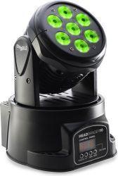Stagg Headbanger 10 LED Moving Head Wash Light-www.soundwarehouse.co.za
