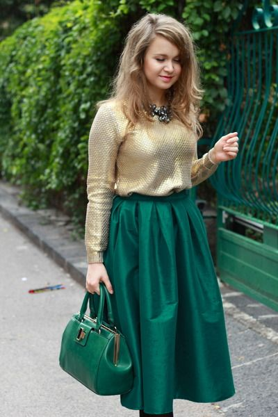 152 best images about The Midi Skirt on Pinterest | Midi skirt ...