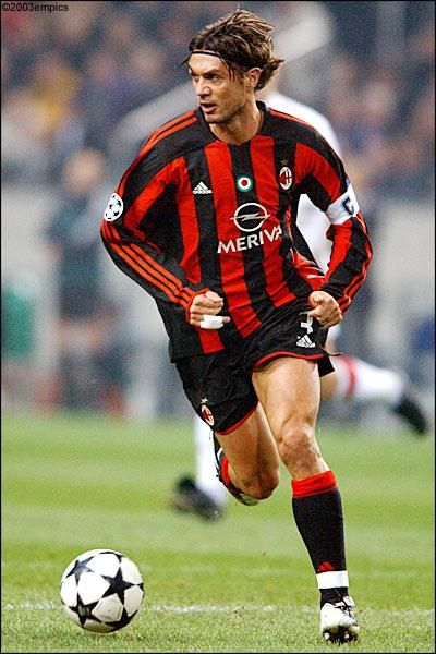 Paolo Maldini The Best player I ever saw