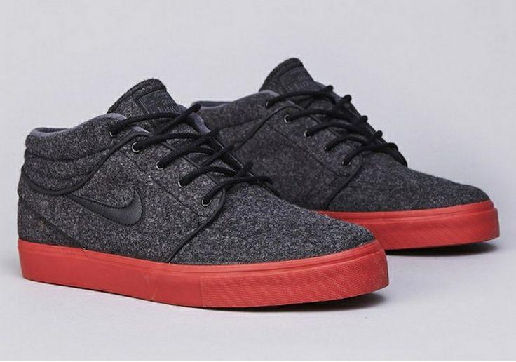 Nike SB Janoski Mid 'Black/Terra Cotta'