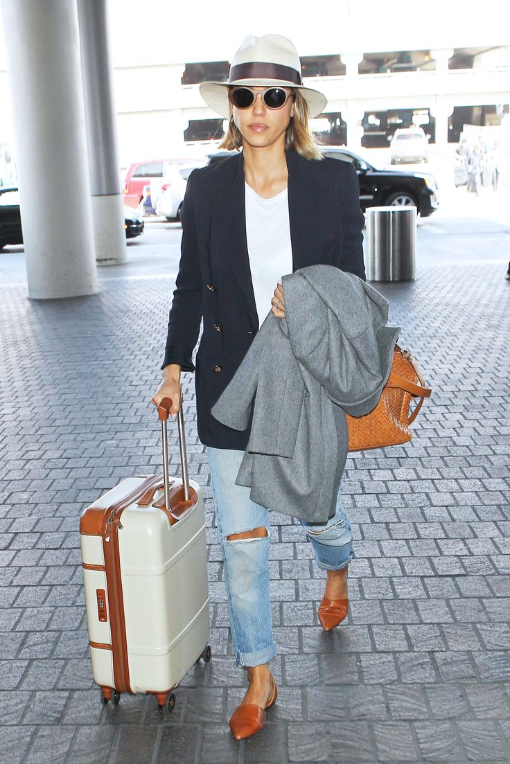 The Secret To Celebrity Airport Style