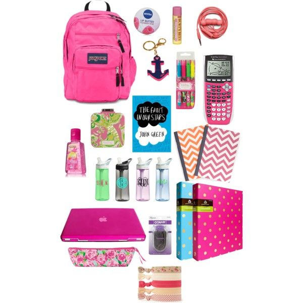 What I have/wish I had in my backpack