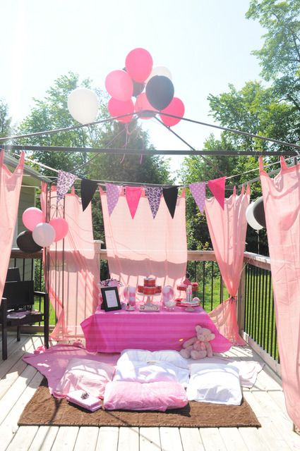 Spa portion of Eloise party.