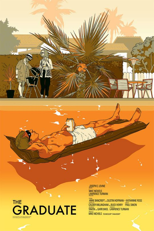 The Graduate by Tomer Hanuka #LogoCore