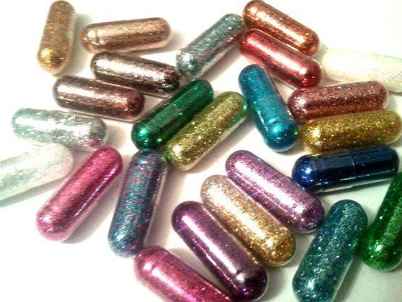 Glitter-Pillen
