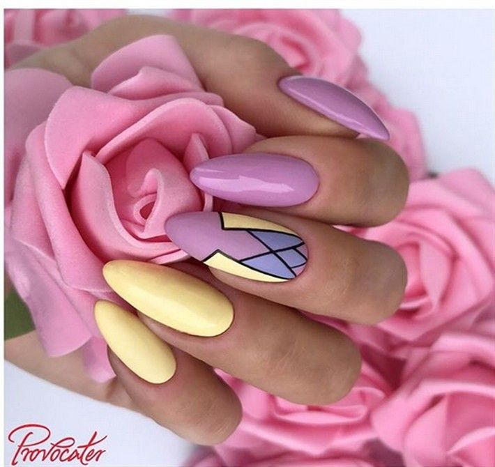 +25 Gorgeous pastel Nail Art Designs Trendy