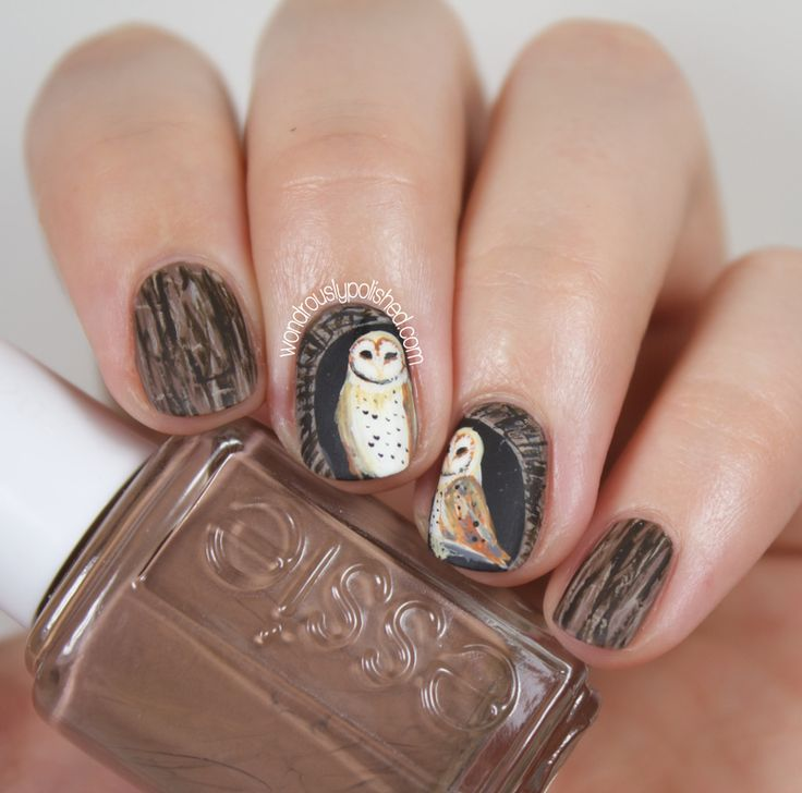 457 best Nail Art - Cute Critters and Animals images on Pinterest ...