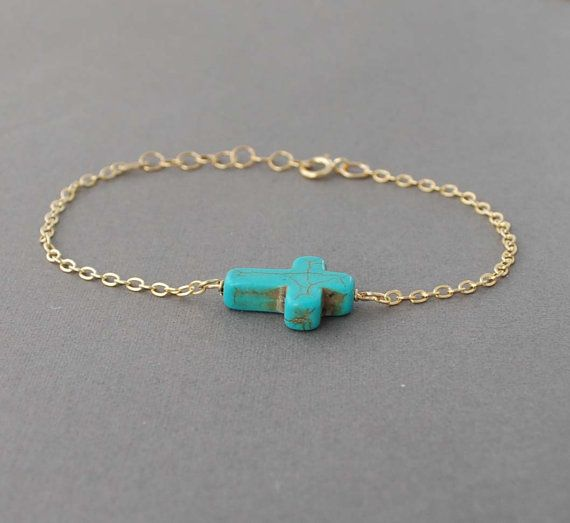 Turquoise Cross Bracelet: Turquoise Cross, Style, Cross Bracelet Love, Cross Bracelet Need, Cross Bracelet I, Sideways Cross Bracelets, Crosses, Bracelet Horizontal