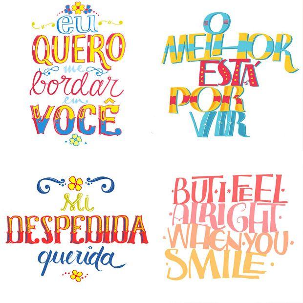 Designers, calígrafos, tipógrafos. Confira a seleção que fizemos com 10 designers brasileiros que criam fantásticos letterings feitos à mão. Inspire-se!