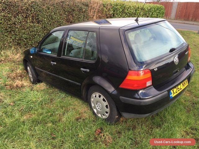 2000 (X) VOLKSWAGEN GOLF 1.6 SE BLACK - SPARES OR REPAIRS #vwvolkswagen #golf #forsale #unitedkingdom