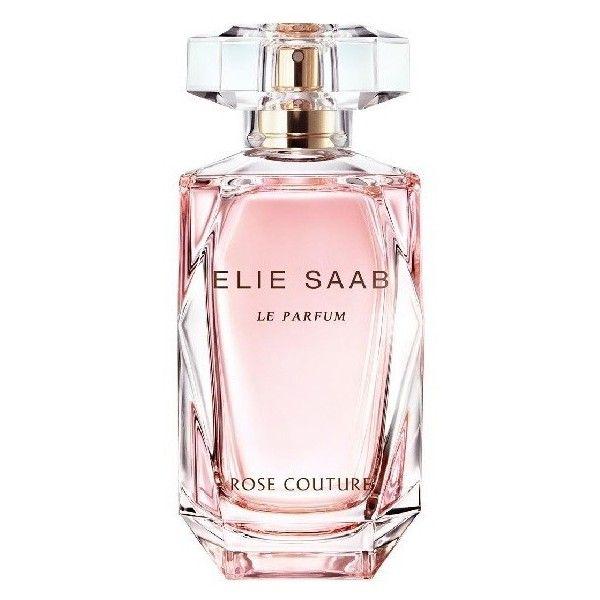 Elie Saab Le Parfum Rose Couture EDT Spray ($61) ❤ liked on Polyvore featuring beauty products, fragrance, perfume, rose, perfume fragrances, parfum fragrance, eau de toilette perfume, edt perfume and elie saab perfume