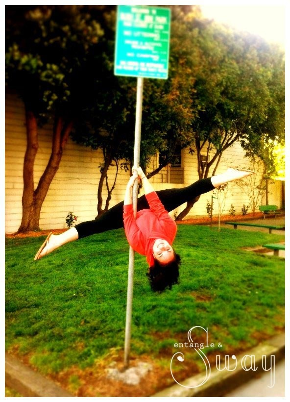Poling in the Park; Entangle & Sway Pole Dance Fitness Studio