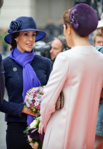 Princess Marie, October 7, 2014 | Royal Hats..Posted on October 7, 2014 by HatQueen....The Danish Royal Family attended the opening of Parliament today in Copenhagen.  ...