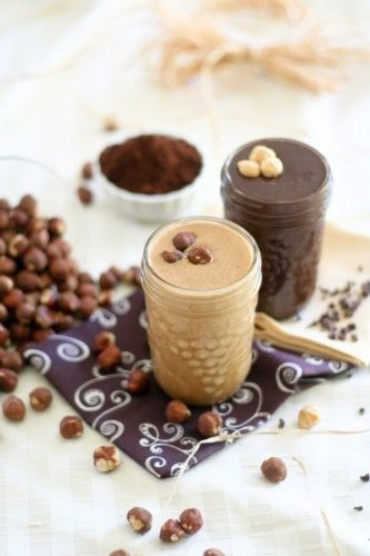 Homemade Hazelnut Butter and Chocolate Hazelnut Butter. Going to price compare to peanut butter as I have developed an allergy. :(